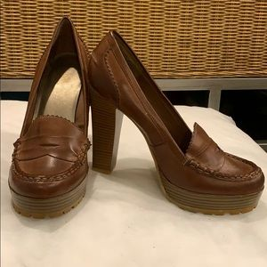 Mia Brown Heels
